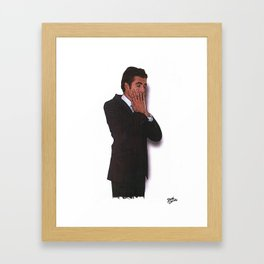 DESPERATE YUPPIE (2007) Framed Art Print