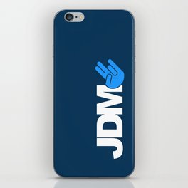 JDM shocker v1 HQvector iPhone Skin