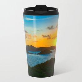 Sunrise Over Hurricane Hole Travel Mug