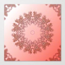 Enamored laced illusion Canvas Print