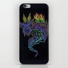 Sea Slug Shaman iPhone & iPod Skin