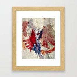 Peek-A-Boo (Hello from the other side) Framed Art Print