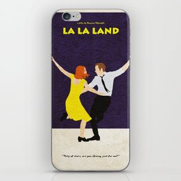 La La Land Alternative Minimalist Film Poster iPhone Skin