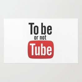 To be or not TUBE Rug