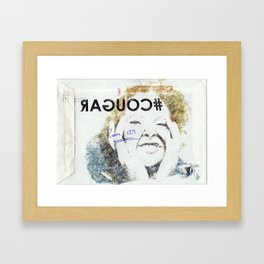 #COUGAR Framed Art Print