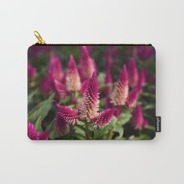 Flower Purple Meadow   Botanical   Plant Photography   Nature Carry-All Pouch