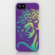 Funky Medusa iPhone SE Slim Case