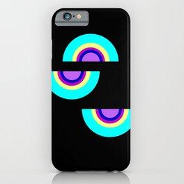 shapes on black -20- iPhone Case
