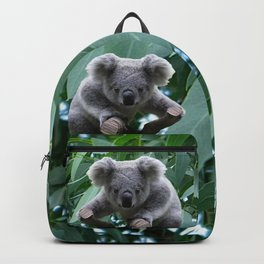 Koala and Eucalyptus Backpack