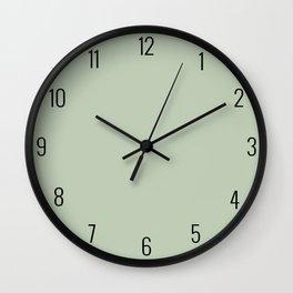 Light Olive Green  Wall Clock