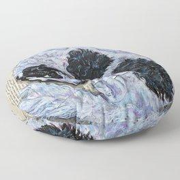 Veil of Shadows Floor Pillow