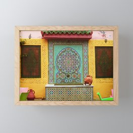 This is Morocco Framed Mini Art Print