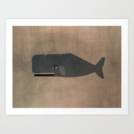 le cachalot Art Print