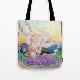 Dandelion Dream Tote Bag