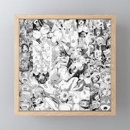 Hentai Dream Framed Mini Art Print