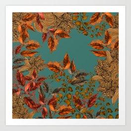 Dark Forest (Copper) Art Print