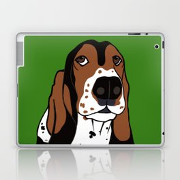 Basset Hound Laptop & iPad Skin
