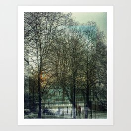 A layered view Art Print