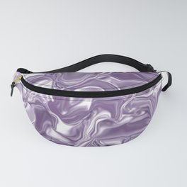 Lilac Crystal Fanny Pack
