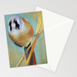 Finch on Wheat Stationery Cards