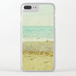 Easy Living Clear iPhone Case
