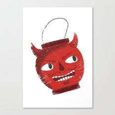 The devil inside Canvas Print