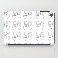 sneaker iPad Cases featuring Nike sneaker illustration by Rocio P. Vigne