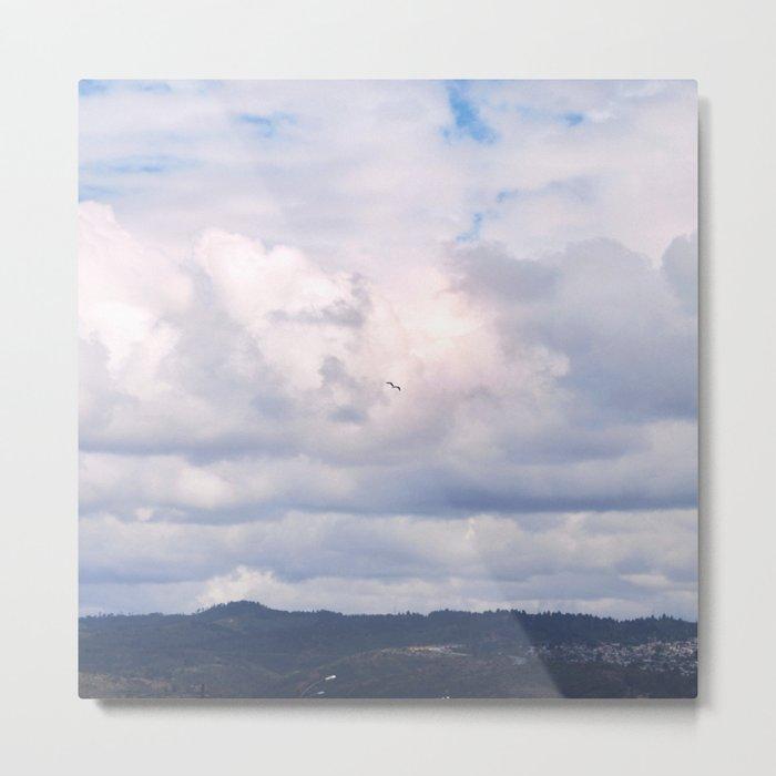 Pastel vibes 41 - El vuelo Metal Print