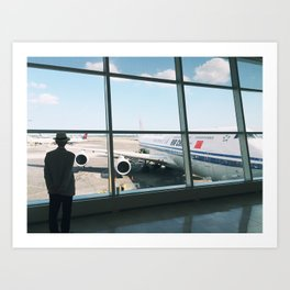 Travel Thoughts Art Print