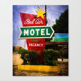Vacancy in Austin Canvas Print