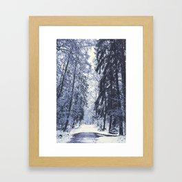 Bent labyrinths Framed Art Print