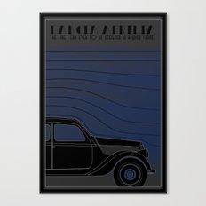 Lancia Aprilia Canvas Print