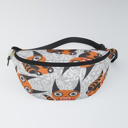 Funny orange monster Fanny Pack