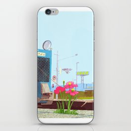 The asphalt cutter iPhone Skin