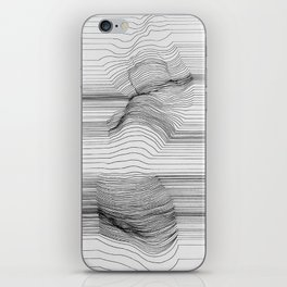 Body Line iPhone Skin