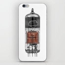 Glass Tube Valve iPhone Skin