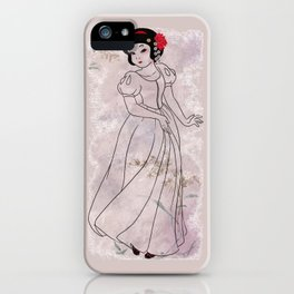 The White Sayuri iPhone Case