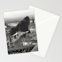 Cincinnati King Kong and Godzilla Rumble Stationery Cards