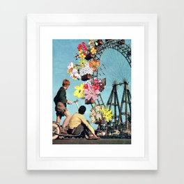 Bloomed Joyride Framed Art Print