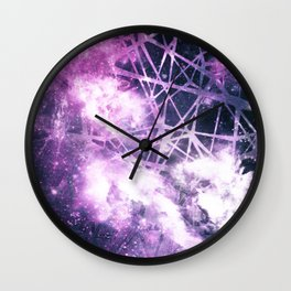 ε Purple Aquarii Wall Clock