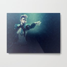 Tribal Warrior Metal Print