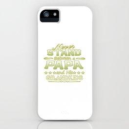 PAPA iPhone Case