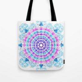 Bubble snowflake Tote Bag