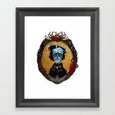 Poe in Color (variant) Framed Art Print