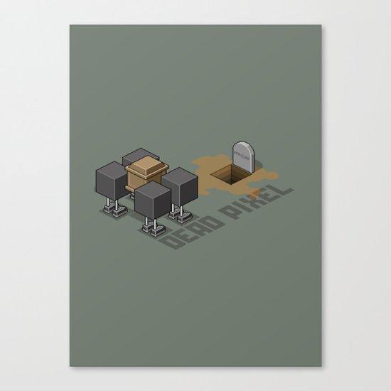 Dead Pixel Canvas Print