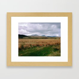 Mountains in Brecon Framed Art Print
