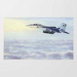 F-15 Eagle Aircraft Rug