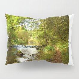 Millers Dale River Walk Pillow Sham