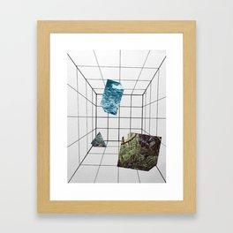 Big White Room Framed Art Print