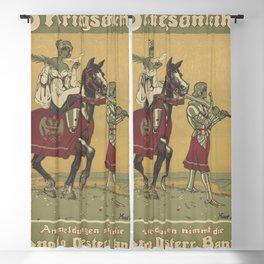 Vintage First World War Poster - Austria-Hungary: Draw the 8th Austrian War Bonds (1918) Blackout Curtain